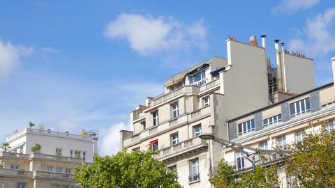 Opener - Casual beige house Footage