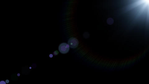 lens flare 01 Animation