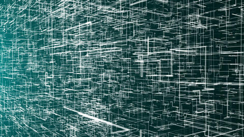 Digital abstract background with particles ビデオ