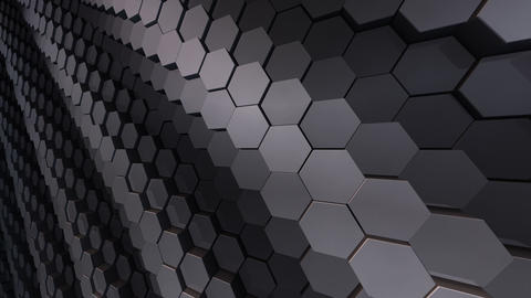 Geometric Hexagon Block Wall B 3 H CpMd Image