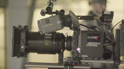 Camera during filming Footage