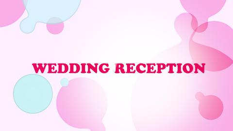 wedding title 07 CG動画素材