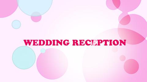 wedding title 07, Stock Animation