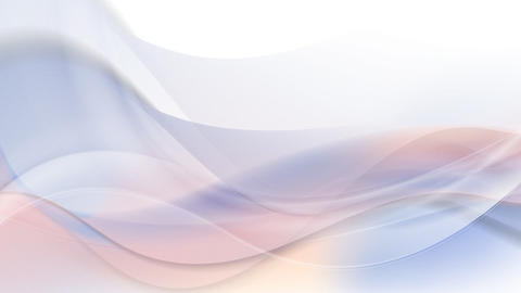 Abstract video animation with smooth trend colors waves Animation