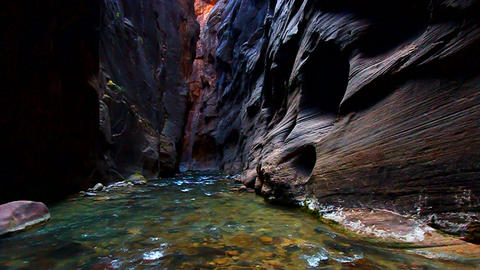 Zion Narrows and Virgin River Footage