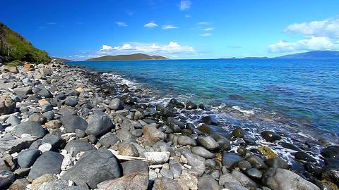 Virgin Islands Caribbean Seascape Footage