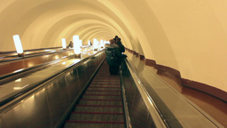 stairs down escalator Footage