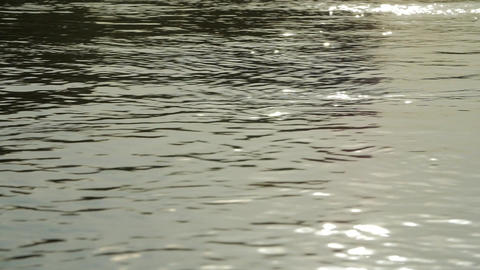Surface water. Background meditative and hypnotic effect Footage