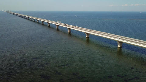 Overseas highway aerial Live Action