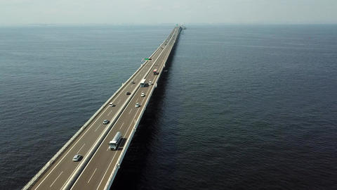 overseas highway from above Live Action