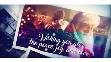 Christmas Brush Memory After Effects Template