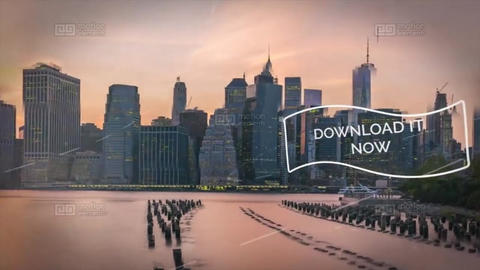 Awesome Parallax Slideshow After Effects Template
