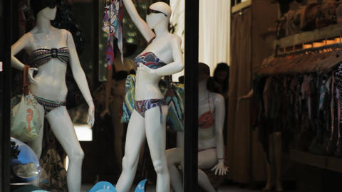Luxurious Swimwear. Shop Window ビデオ