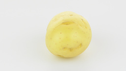 New potato tuber Stock Video Footage