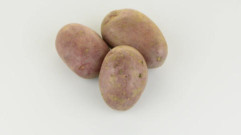 FSC 6207New potato tuber Stock Video Footage