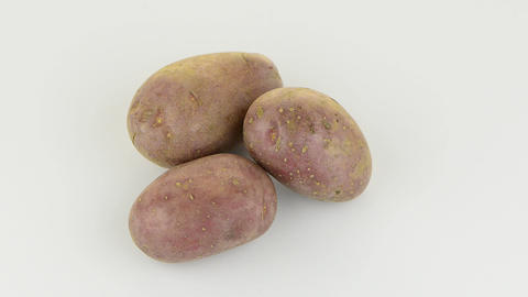 FSC 6207New potato tuber Stock Video Footage