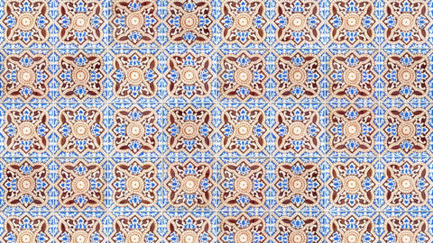 Seamless tile pattern Stock Video Footage
