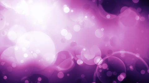 Pink bubble effects animation Stock Video Footage