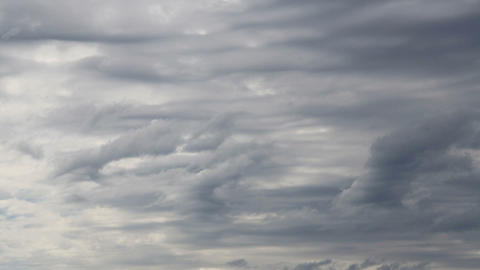 grey clouds timelapse Stock Video Footage