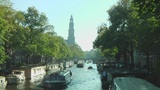 Amsterdam canals Footage