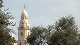 Jerusalem city park Footage