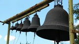 Bells on church belfry Footage