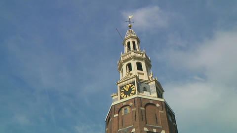 Westertoren, Amsterdam Stock Video Footage