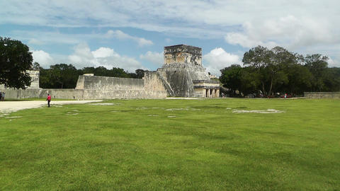 Chichen Itza Mexico Yucatan handheld Stock Video Footage