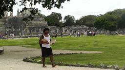 Chichen Itza Mexico Yucatan 11 Footage