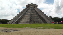 Chichen Itza Mexico Yucatan Kukulcan Pyramid 19 Stock Video Footage