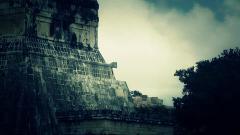 Chichen Itza Mexico Yucatan 35 stylized Footage