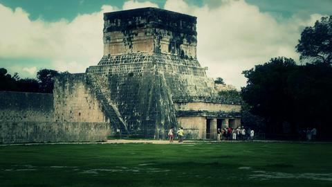 Chichen Itza Mexico Yucatan 37 handheld stylized Footage
