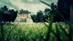 Chichen Itza Mexico Yucatan 43 stylized Footage