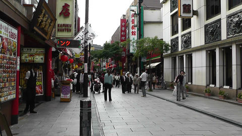 China Town in Yokohama Japan 01 Stock Video Footage