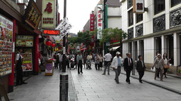 China Town in Yokohama Japan 01 Footage