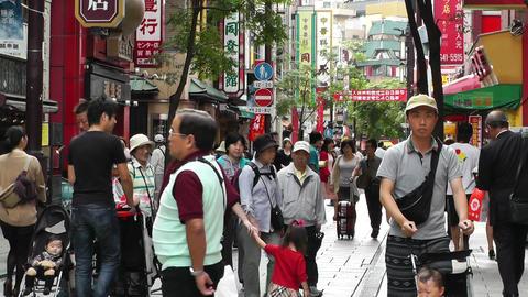 China Town in Yokohama Japan 05 Stock Video Footage