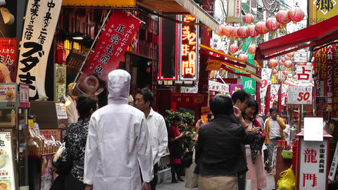 China Town in Yokohama Japan 07 Live Action