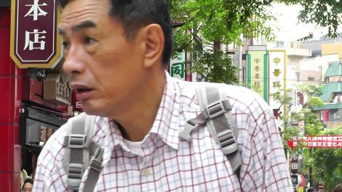 China Town in Yokohama Japan 09 Stock Video Footage
