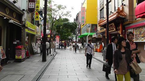 China Town in Yokohama Japan 11 Stock Video Footage