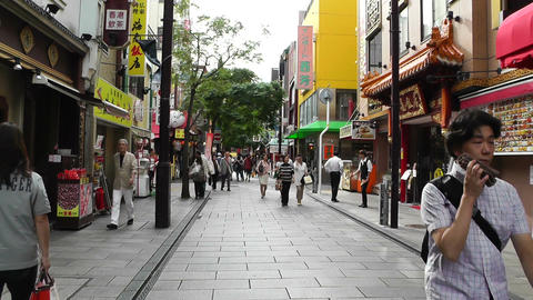 China Town in Yokohama Japan 11 Footage