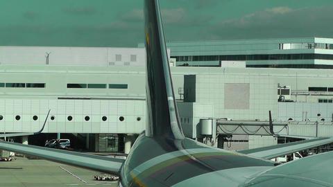 Frankfurt International Airport Germany 06 Stock Video Footage
