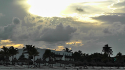 Sunset over the Caribbean 03 Stock Video Footage