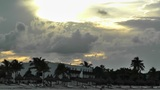 Sunset over the Caribbean 03 Footage
