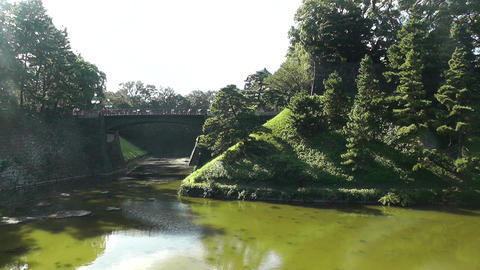 Tokyo Imperial Palace Japan 05 Stock Video Footage