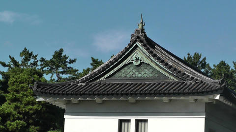 Tokyo Imperial Palace 09 Stock Video Footage