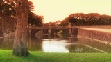 Tokyo Imperial Palace Japan 04 stylized Footage