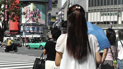 Tokyo Shibuya Japan 02 Stock Video Footage