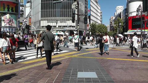 Tokyo Shibuya Japan 04 Stock Video Footage