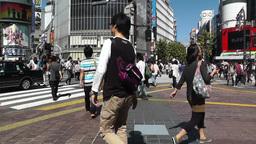 Tokyo Shibuya Japan 04 Footage