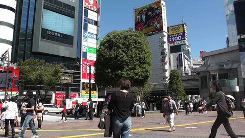 Tokyo Shibuya Japan 06 Footage